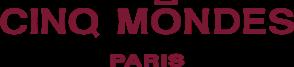 Cinq Mondes logo, partner of Château de Serjac, spa hotel in the south of France.