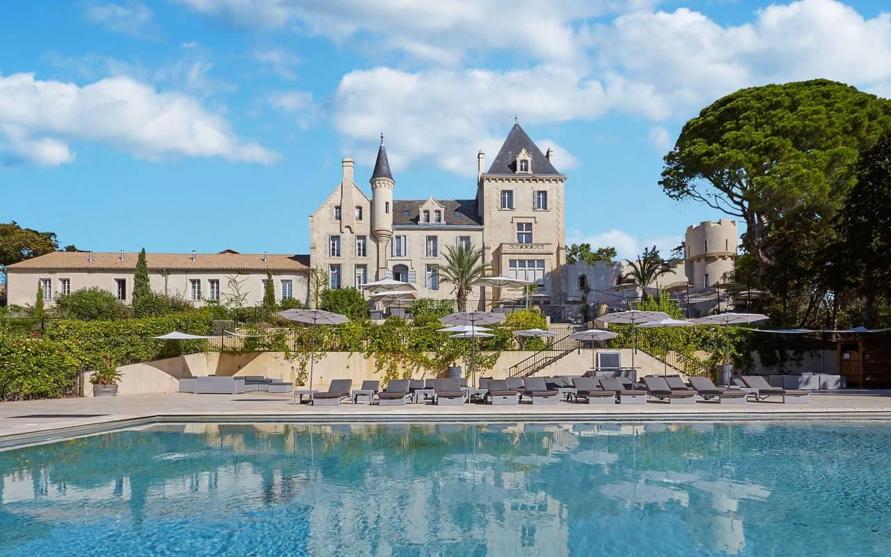 Château Les Carrasses, unusual accommodation Occitanie, Domaine & Demeure