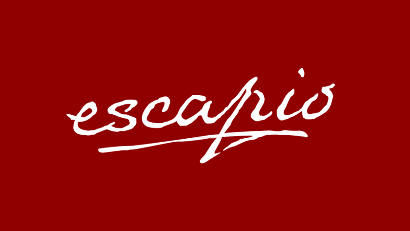 Escapio logo, partner of Château de Serjac, spa hotel in the south of France.