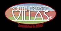 Logo South France Villas, partenaire du Château de Serjac, château hôtel à Puissalicon.